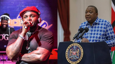 Khaligaph Jones pens letter to Uhuru with only one request