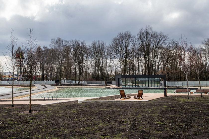 Staw w parku Lotników Polskich