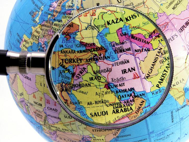 iran mapa shutterstock 17400463