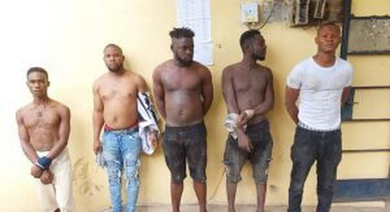Suspects arrested by Police for attempted attack on station in Imo [NAN]