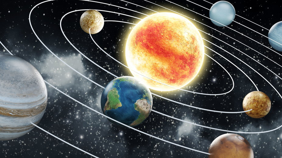 Układ Słoneczny - symboliczna wizja