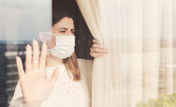 izolacja maseczka epidemia