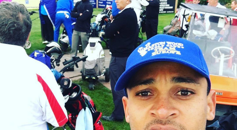 Former Super Eagles forward Osaze Odemwingie takes up coaching course in golf so he can help grow the sport in Nigeria