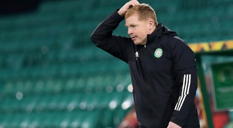Lennon defends record as Celtic fans call for him to go