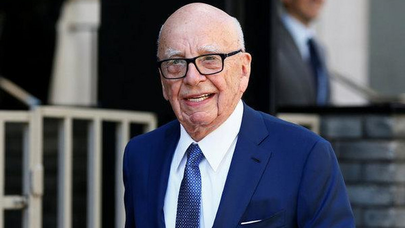 'Ink' spot: Rupert and friends catch Murdoch play on Broadway