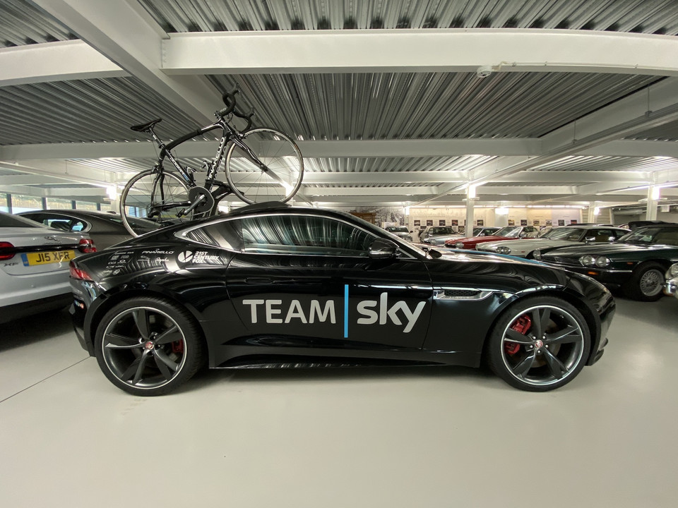 Jaguar F-Type R SVO for Team Sky