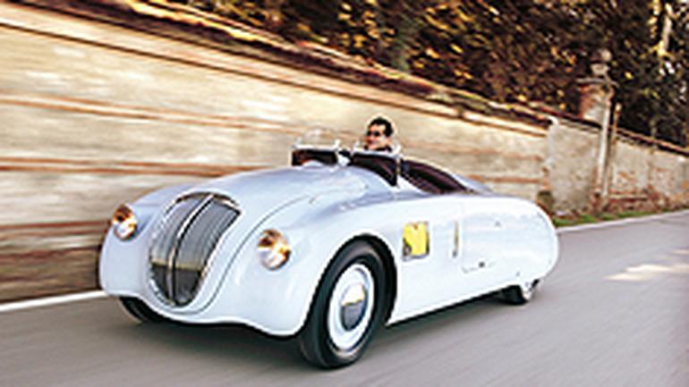 Lancia Aprilia Zagato - Z wyblakłych fotografii