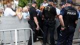 Dwie osoby zatrzymane po proteście przed Sejmem