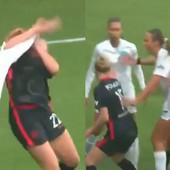 Tuča kakva se ne pamti u ženskom fudbalu! Žestoki faulovi, udaranje i ČETIRI CRVENA KARTONA zbog haosa na terenu! /VIDEO/