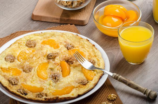 Voćni omlet je egzotika
