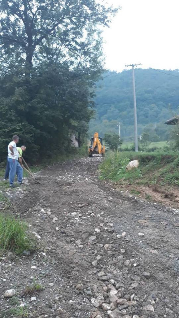 Bujica uništila puteve u nekoliko kosjerićkih sela