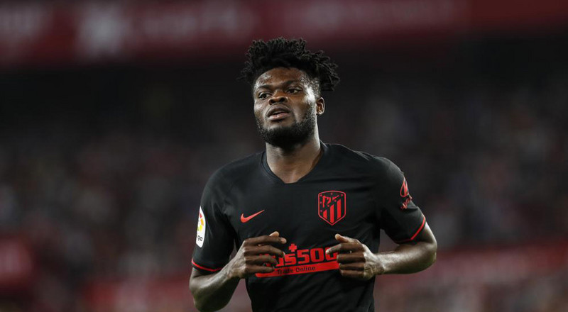 Thomas Partey rated as the midfielder with most successful dribbles in major European leagues