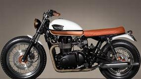 "Triumph Bonneville T100 ""Urban Pearl"" od Ton-Up Garage"