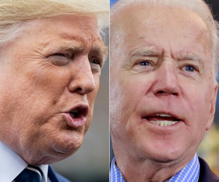 Donald Tramp i Džozef Bajden
