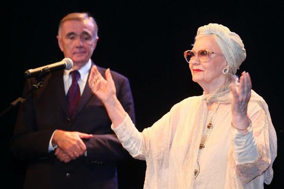 Duško Kovačević i Milena Dravić