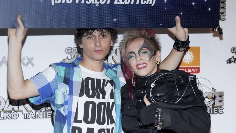 Krystyna Mazurówna i Dawid Ignaczak