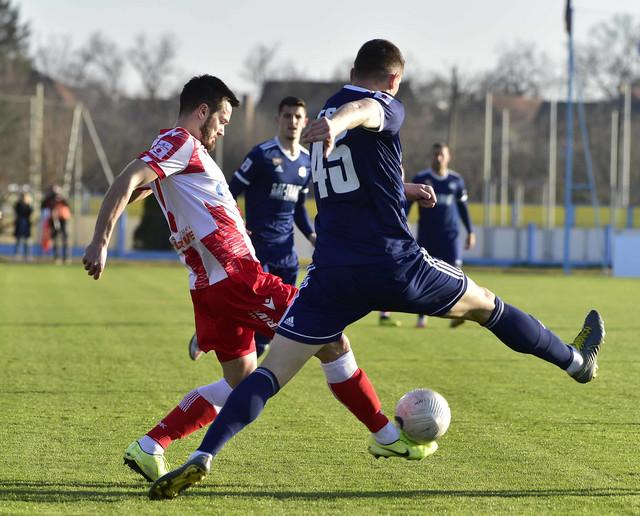 Detalj sa meča FK Crvena zvezda - FK TSC
