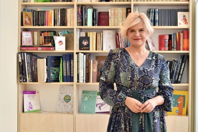 Nataša Milićević, osnivač i vlasnica škole za učenje srpskog jezika kao stranog jezika