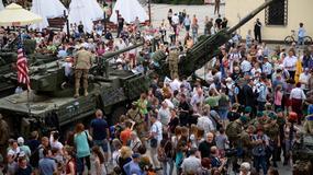 Amerykański konwój Dragoon Ride w Tarnowie