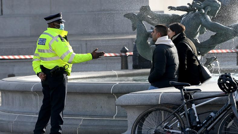 Lockdown w Londynie