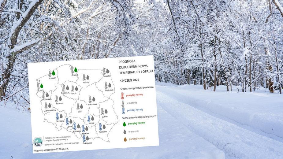 Prognoza IMGW na najbliższe miesiące. Jaka będzie zima?