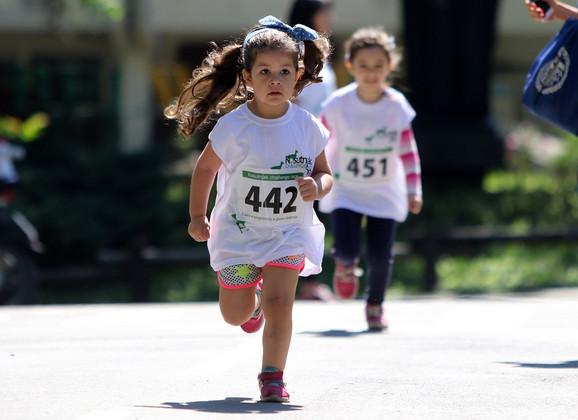 Nagrade su dobili i najmlađi trkači