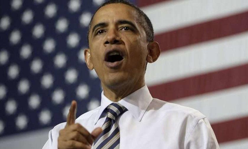 Obama grozi wojną
