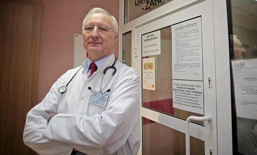 Prof. Jacek Wysocki.