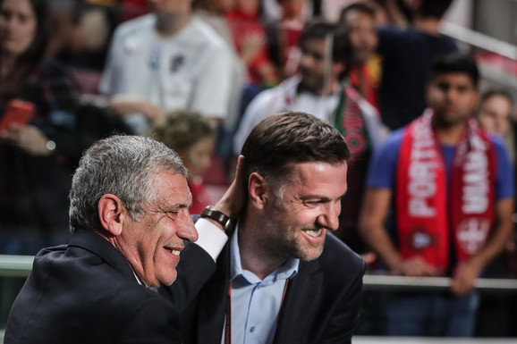 Fernando Santoš i Mladen Krstajić