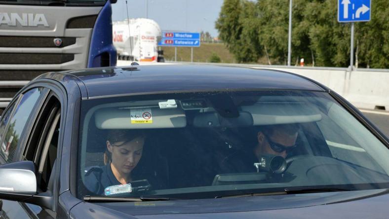 "Akcja ""TIR"" na autostradzie A4"