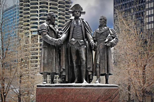 Pomnik Jerzego Waszyngtona w Chicago
