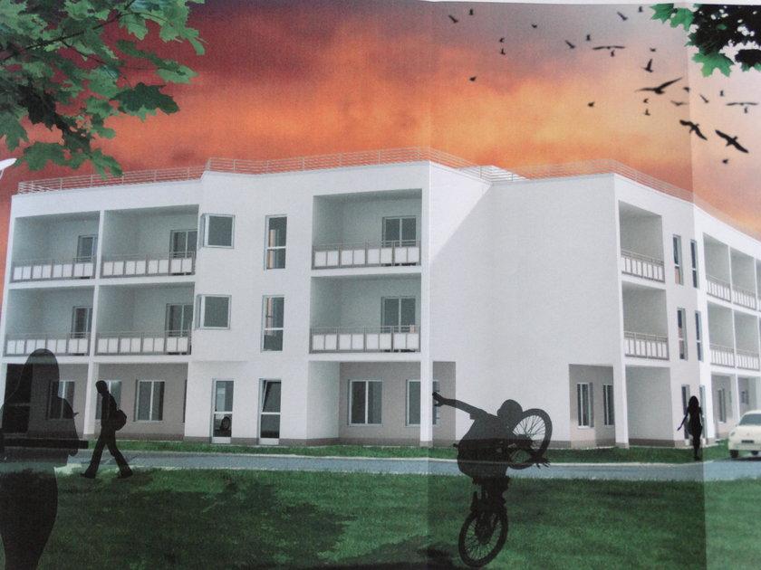 Wizualizacja domu seniora na LSM