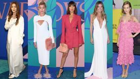 Heidi Klum z dekoltem, Bella Hadid z grzywką, Hailey Baldwin w zabawnych butach na gali w Nowym Jorku