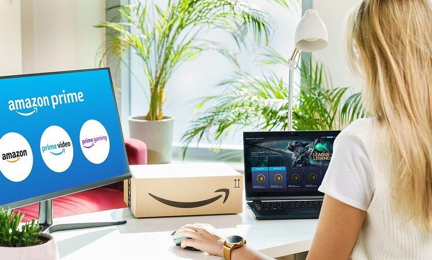 Amazon Prime dostępny w Polsce od 12.10.2021.