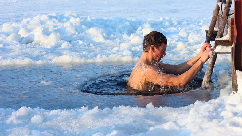 Pływanie zimą