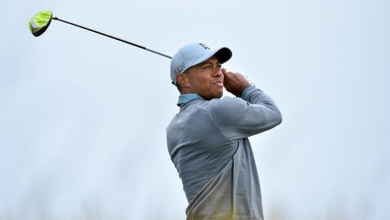 Tiger Woods, pictured in 2015, will tee-up in the 18-man Hero World Challenge event, his first appearance since sharing 10th in the Wyndham Championship 465 days ago