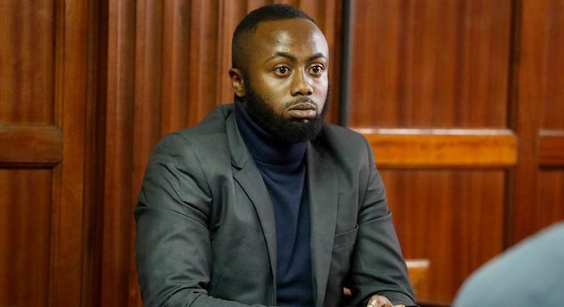 Jowie Irungu, suspect in Monica Kiman's murder