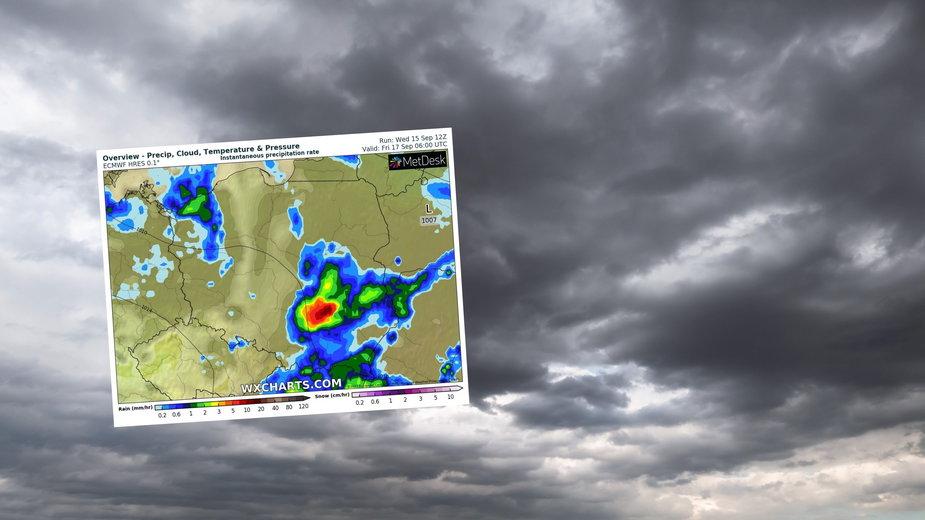 Pogorszenie pogody odczujemy dziś już w całej Polsce