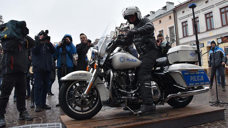 Harley dla polskiej drogówki