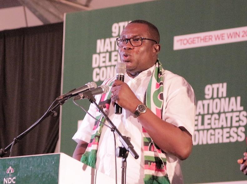 Samuel Ofosu Ampofo, président national du NDC