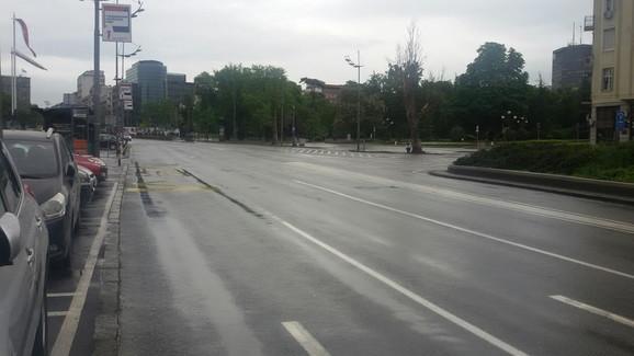 Trg Nikole Pašića bez vozila