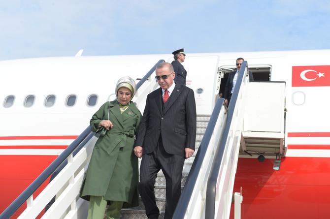 Predsednički par Turske stiže u Beograd