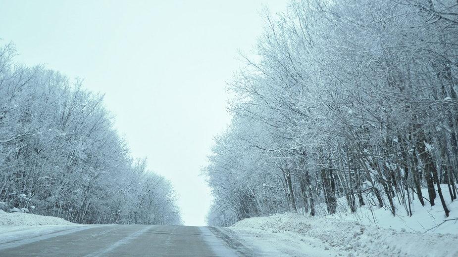 Pogoda. Opady śniegu