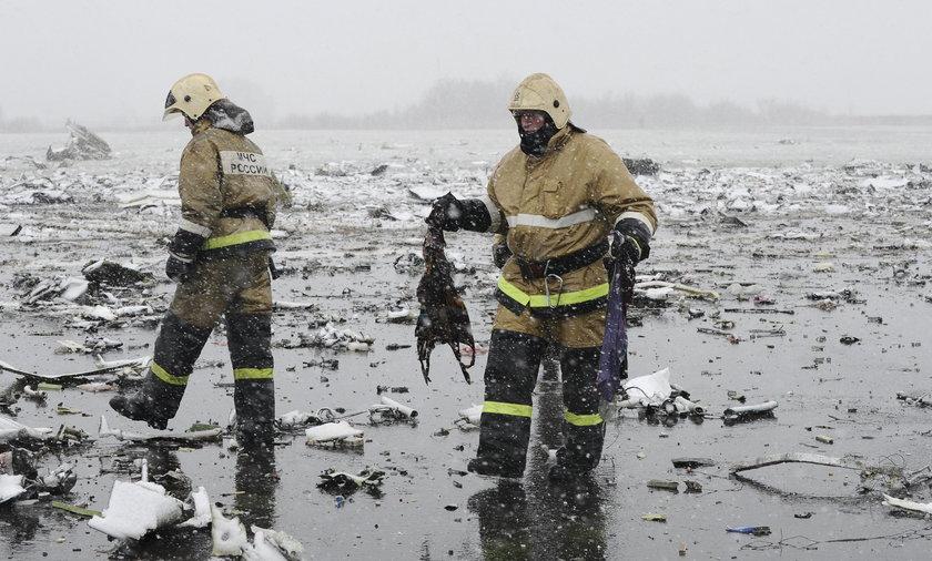 Katastrofa samolotu w Rostowie