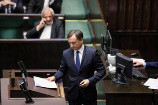 Komisja sejmowa negatywnie o wniosku o wotum nieufności wobec Ziobry