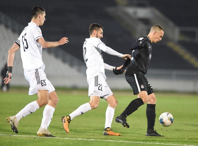 Detalj sa meča Partizan - Čukarički