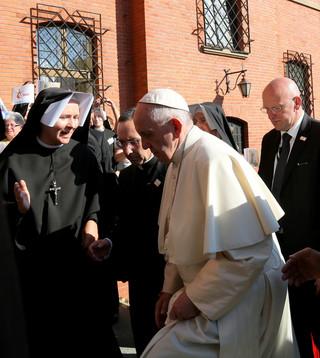 Papież Franciszek w Łagiewnikach wyspowiadał ośmioro pielgrzymów
