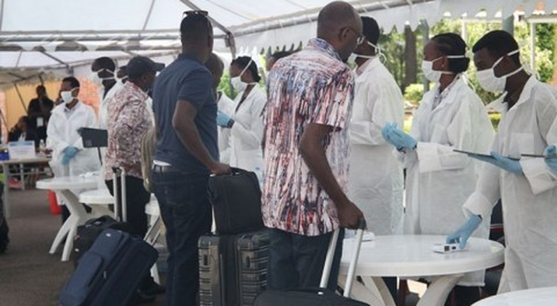Police on the spot after premature release of 32 people on quarantine