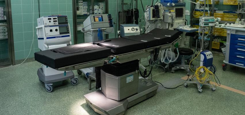 Stół operacyjny pomaga lekarzom. Jedyny taki w Polsce!