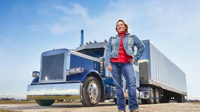 Meet the female truckers making six-figures driving 80,000 pound vehicles across the country. The industry wants to recruit more of them.